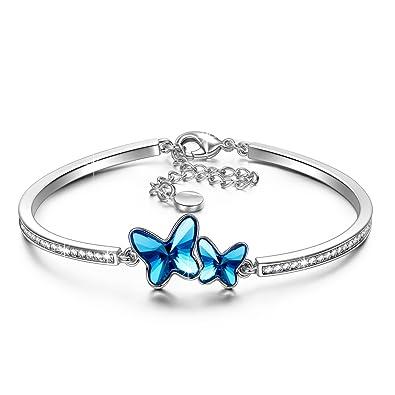 comprare popolare 21720 44eba Susan Y regali di natale la farfalla braccialetti donna regali ...
