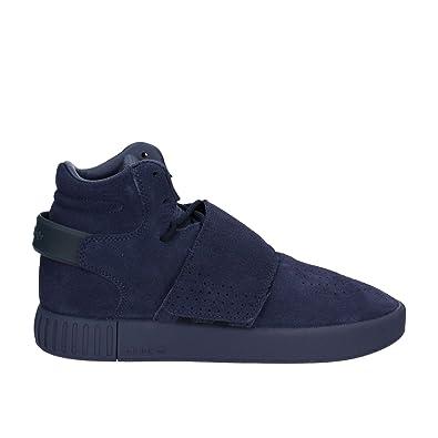 competitive price 7b8b8 7b4b3 adidas Tubular Invader Strap J, Chaussures de Fitness Mixte Enfant,  Multicolore-Bleu