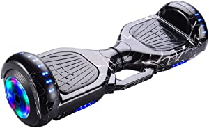 Hoverboard for Kids&Adult Two-Wheel Self Balancing Hoverboard with LED Lights Christmas Amazon Membership Day