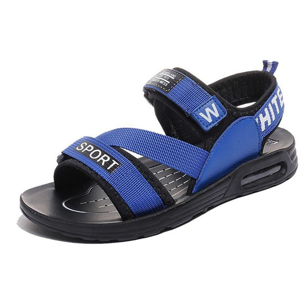 GIY Boys Girls Sport Water Sandals Synthetic Leather Summer Open-Toe Outdoor Beach Athletic Kids Shoes