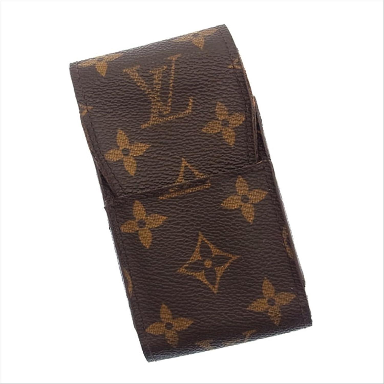 [ルイヴィトン] Louis Vuitton シガレットケース タバコケース メンズ可 エテュイシガレット M63024 モノグラム 中古 D631 B018JMS4OY