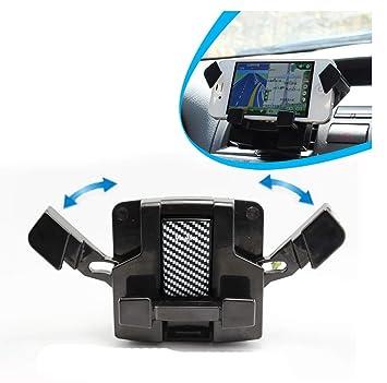 AnaZoz Soportes Universales GPS Soporte Móvil Coche 360 Soportes Navegador Coche Soporte Móvil Coche Rejilla de