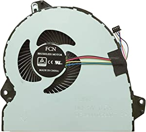 Replacement Compatible Laptop CPU Cooling Fan Cooler for ASUS ROG Strix ZX53V ZX53VD ZX53VE ZX53VW GL753 GL753V GL753VD GL753VE ZX53VD7300 FX53VD7300 fx53vd i57300 FCN DFS2001055GOT FJ5N Series