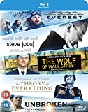 Everest/Steve Jobs/Wolf Of Wall Street/Theory Of Everything/. [Blu-ray]