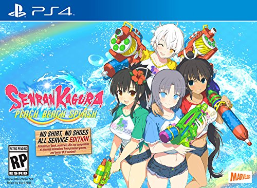 Senran Kagura Peach Beach Splash – No Shirt, No Shoes, All Service Edition – PlayStation 4