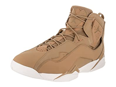 a2bde60efac4 Image Unavailable. Image not available for. Color  Nike Mens Jordan True  Flight Basketball Shoes Golden Harvest Sail 342964-725 Size 11.5