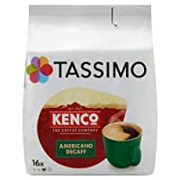 Tassimo Kenco Decaf Coffee Pods (Pack of 5, 80 pods in total, 80 servings)