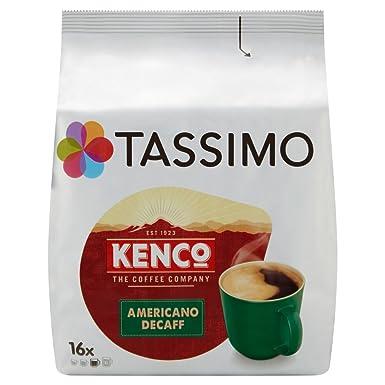 Tassimo Kenco - Capsulas de cafe decaf (paquete de 5, 80 ...