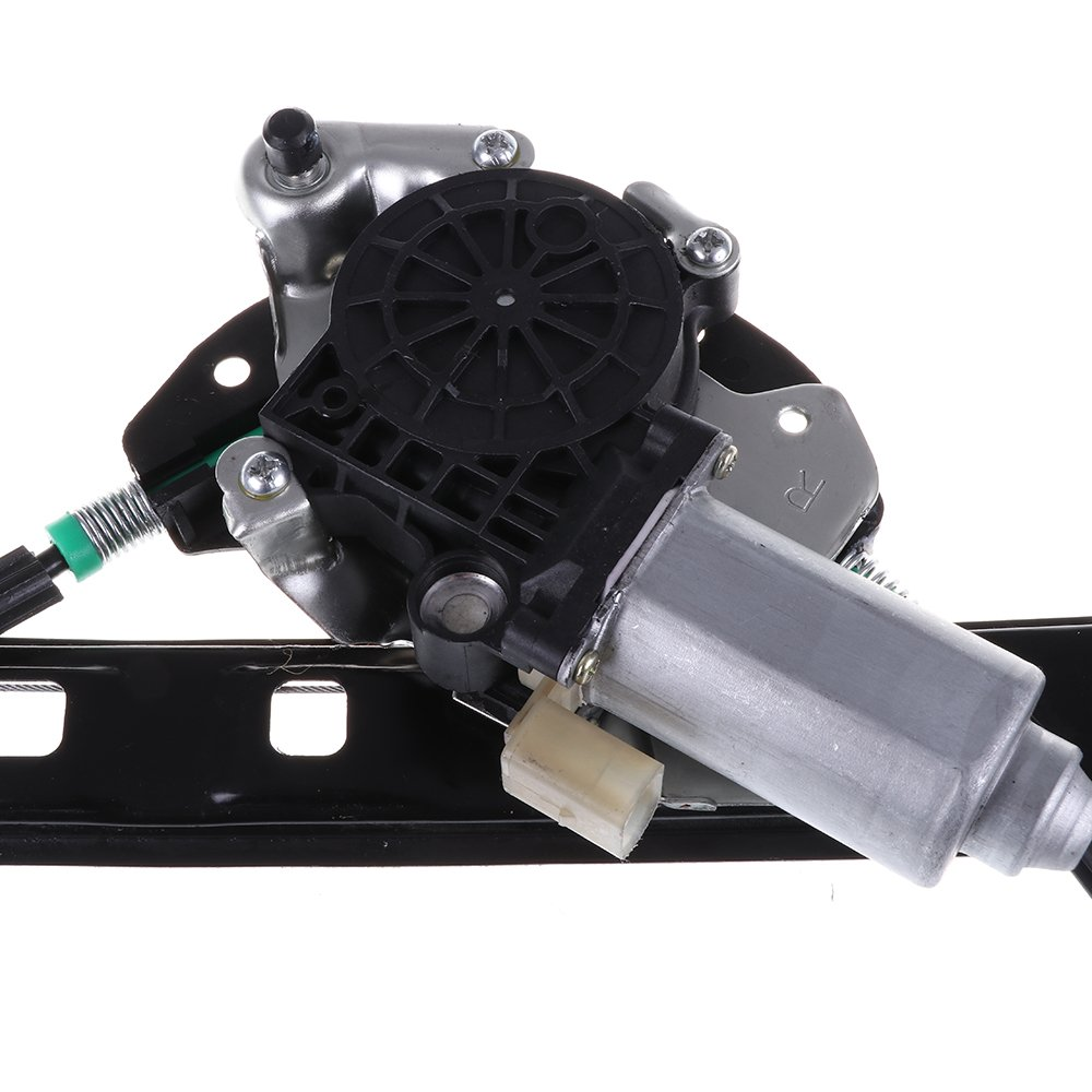 Front Left Drivers Side Power Window Lift Regulator With Motor Assembly Replacement for 2001-2005 BMW 325i 325xi 330i 2000 BMW 323i 328i Front Left Power Window Lift Regulator With Motor Assembly)