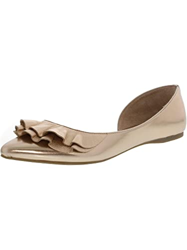Amazoncom Steve Madden Womens Roughly Rose Gold Ankle High Flat