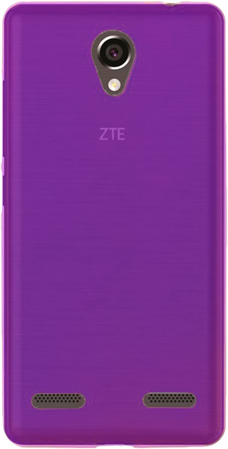 OVIphone Funda Gel TPU Para ZTE BLADE L7(Color Morado): Amazon.es: Electrónica