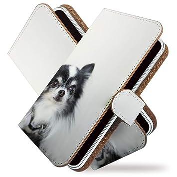 cb7ca4e219 KEIO ケイオー iPhone7 カバー 手帳型 犬 iPhone 7 手帳 ドッグ 犬柄 iPhone7 ケース チワワ