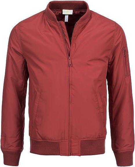 gesto mezcla cera  adidas Neo Hombre Bomber Chaqueta b84613, Rojo, Extra-Small: Amazon.es:  Deportes y aire libre
