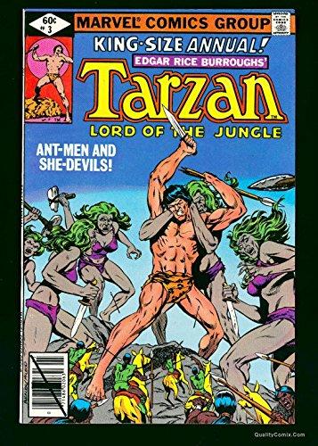 Tarzan Annual #3 NM+ 9.6