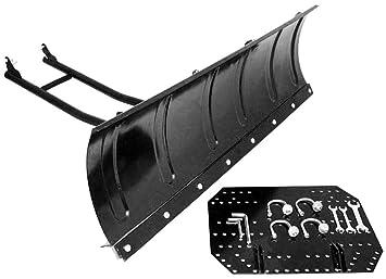 Schneeschild Räumschild für Rasentraktor 120 x 40 cm Top Qualität