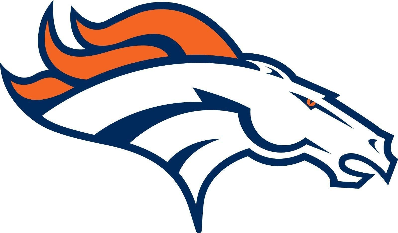 Vinyl Sticker Decal Denver Broncos NFL Car Truck Window Bumper Laptop Wall, 11'' Wide