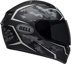 BELL Qualifier Street Helmet (Stealth Camo Matte Black/White - Medium)