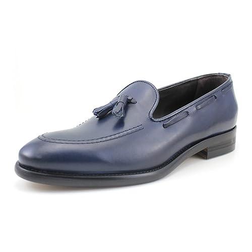GIORGIO REA Mocasines Para Hombres Hecho a Mano EN Italia, Los Zapatos de Lujo,