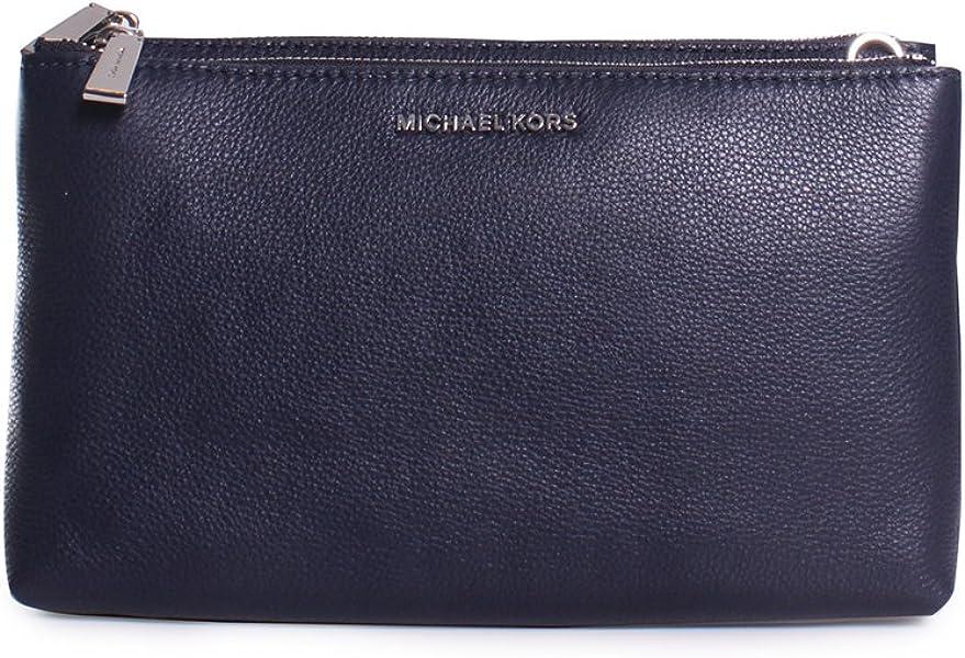 66ccf28ab394 Michael Michael Kors Adele Double-Zip Crossbody, Admiral Blue: Handbags:  Amazon.com