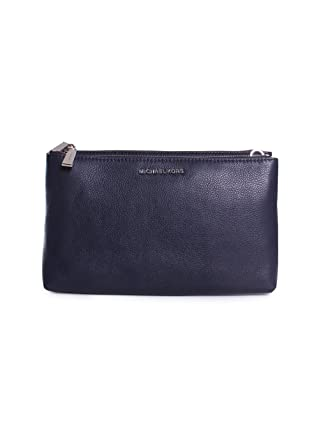 3b0a0324e Michael Michael Kors Adele Double-Zip Crossbody, Admiral Blue:  Amazon.co.uk: Clothing
