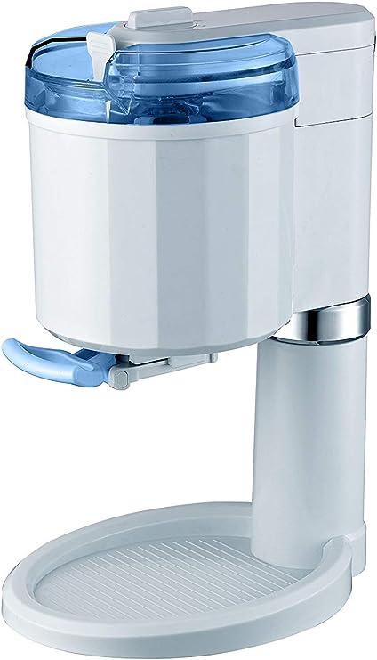 Heladera de 1 litro, máquina de helados de acero inoxidable ...