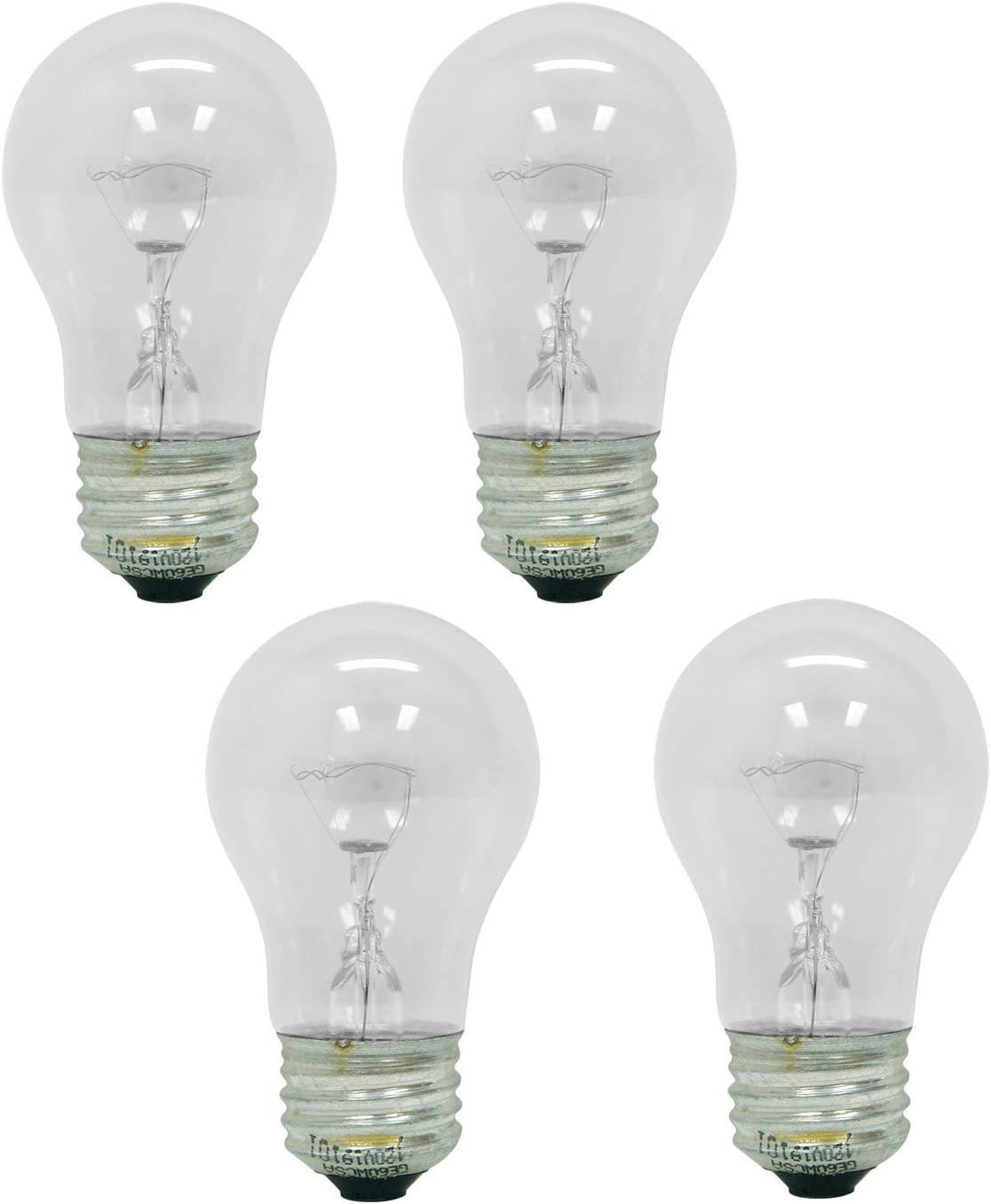 GE 47260 Crystal Clear 40 Watts 4 Bulb Value Pack