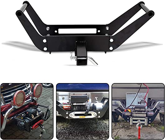 Winch Mount Recovery Winches 10 x 4 1//2 RUGCEL WINCH Cradle Winch Mounting Plate