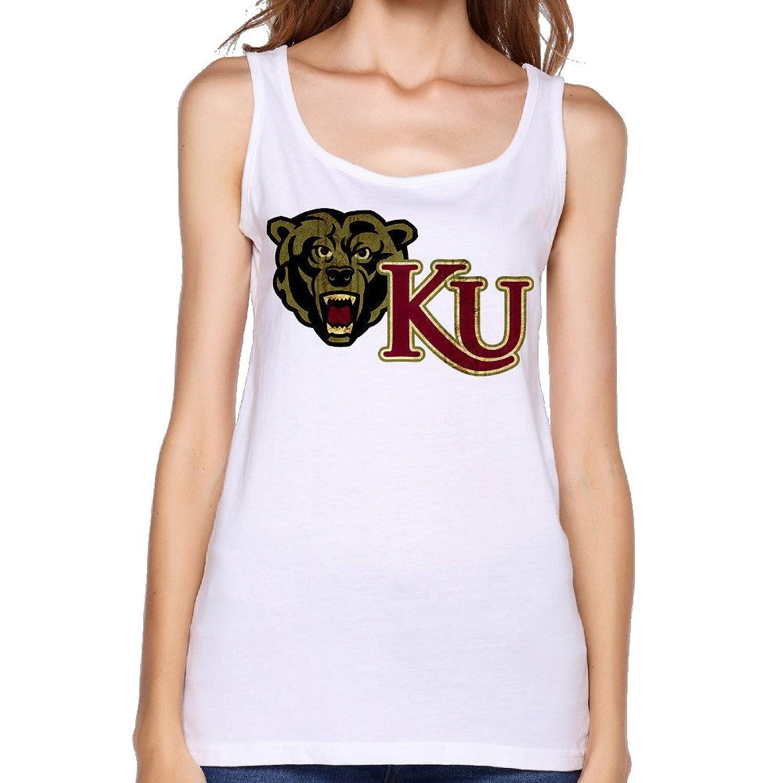 Women's NCAA Kutztown University Of Pennsylvania KU Golden Bears Logo Tank Top-