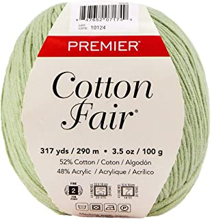 Premier Yarns 27-15 Cotton Fair Solid Yarn-Moss
