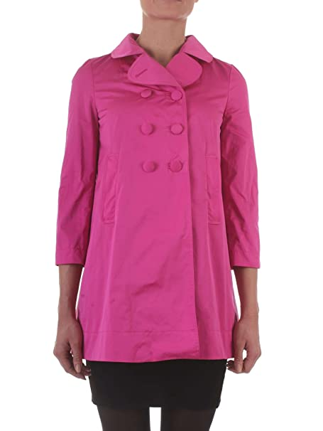 huge discount 7b8ca ef891 Twinset PS82J3 Cappotto Donna Fucsia 40: Amazon.it ...