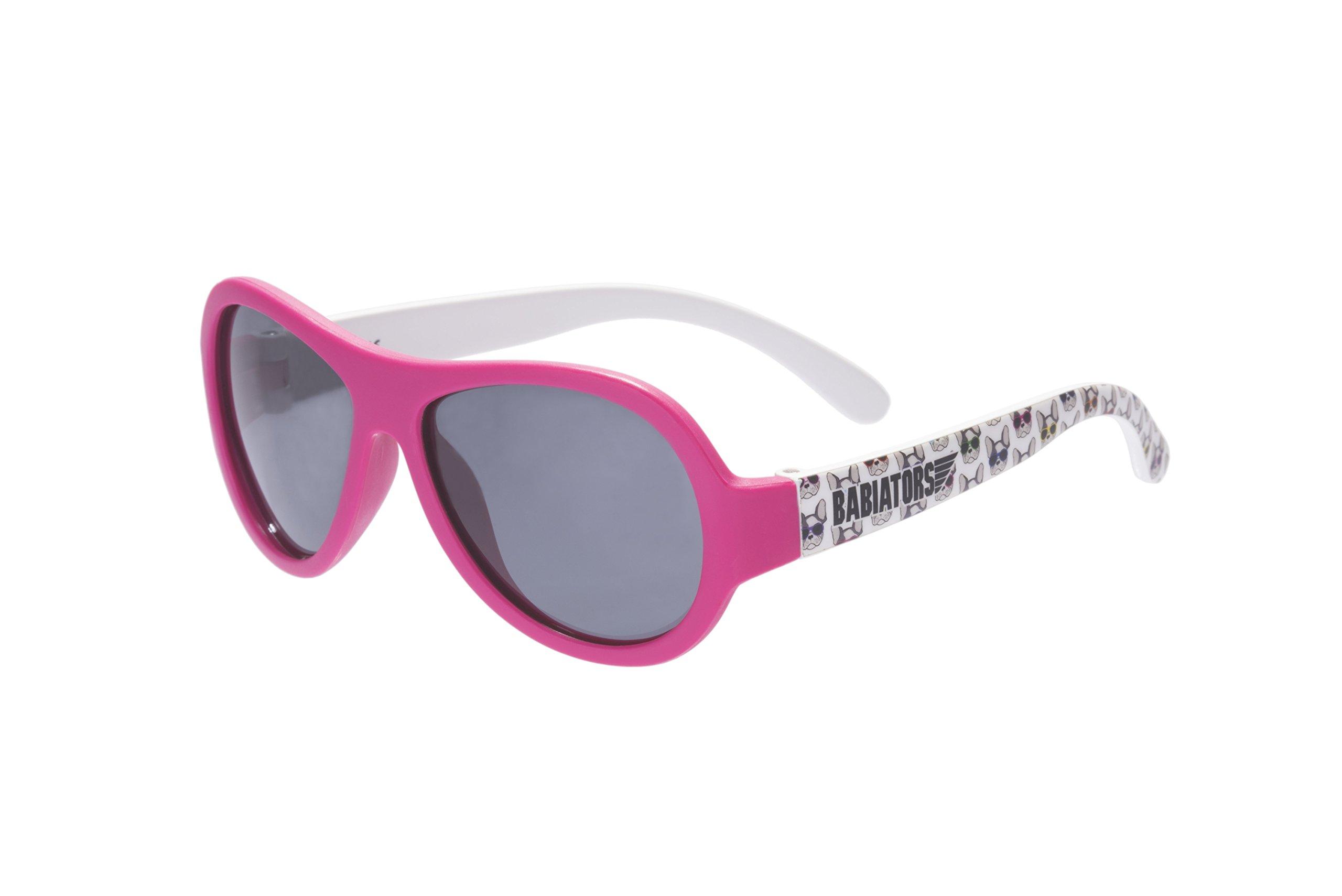 Babiators Polarized Aviator Sunglasses, Puppy Love (3-5 Years)