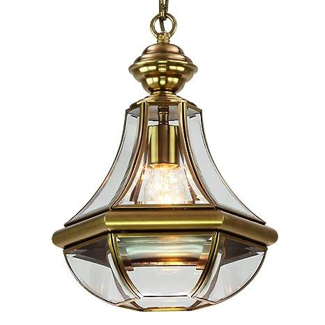 JZX Decorativo, Luz de Techo, Lámpara Colgante, Lámpara de ...