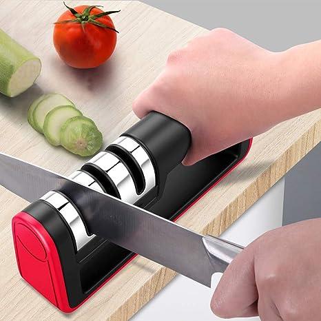 Amazon.com: BEEMSK afilador de cuchillo profesional diamante ...