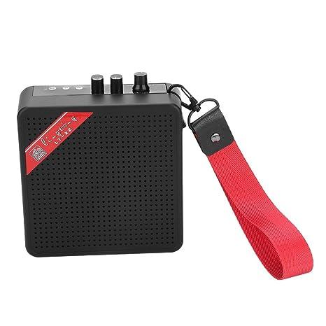 Amazon.com: 5W Mini Amplifier, Bluetooth Guitar SD Card Input ...