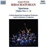 Spartacus suites Nos 1 à 3