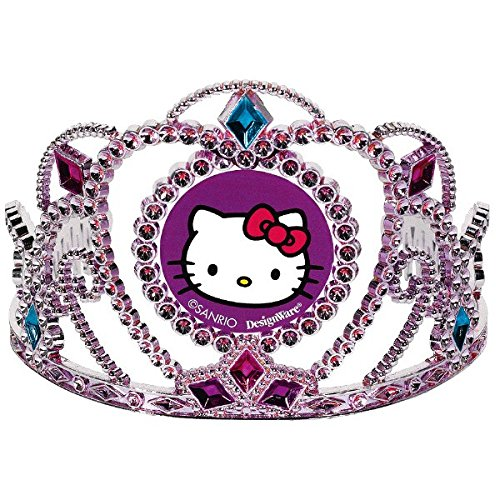 (Electroplated Tiara | Hello Kitty Rainbow Collection | Party Accessory)