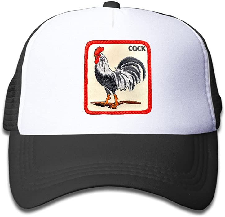 Amazon.com  Beaver Rooster Toddler Sunscreen Trucker Cap Style Great ... 2091f82b70b6
