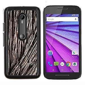 - green tree bark nature forest - - Modelo de la piel protectora de la cubierta del caso FOR Motorola Moto G (3rd Gen 2015) RetroCandy