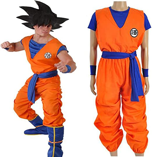 SHIXUE Disfraz Cosplay Dragon Ball Son Goku Adulto Disfraz De ...