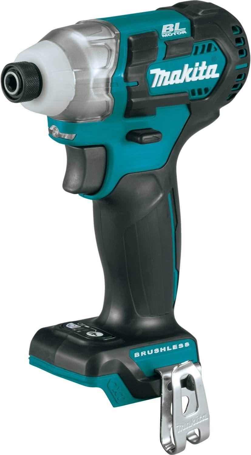 Makita DT04Z 12V Max CXT Lithium-Ion Brushless Cordless Impact Driver, Tool Only,
