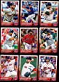 Boston Red Sox 2015 Topps MLB Baseball Regular Issue Complete Mint 25 Card Team Set Dustin Pedroia, David Ortiz, Rusney Castillo Rookie Plus