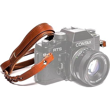 Amazon com : Ciesta CSS-HM12-A02 Mano Leather Camera Strap