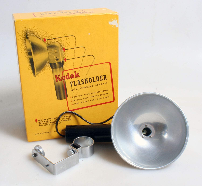 Vintage Flashholder with Bracket////Art Deco Flash////Camera Flash