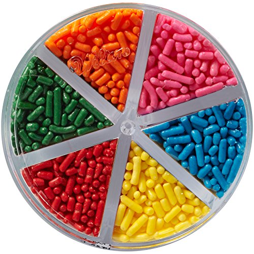 Wilton Jimmies Rainbow Sprinkle Assortment, 3.2 oz. - Cake Decorating ()