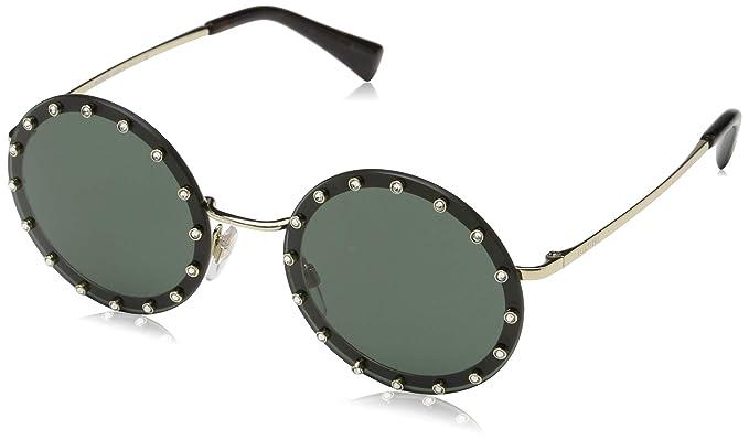 Valentino 0VA2010B 300371 52 Gafas de sol, Dorado (Light ...