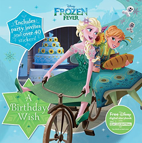 Disney Frozen Fever: A Birthday Wish (8 X 8 Activity & Sticker Book)