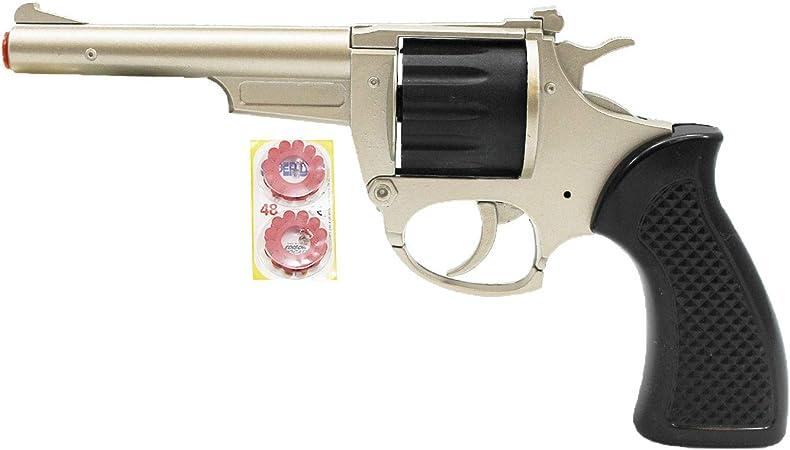 Acan - Pistola de petardos con 48 recargas: Amazon.es: Hogar