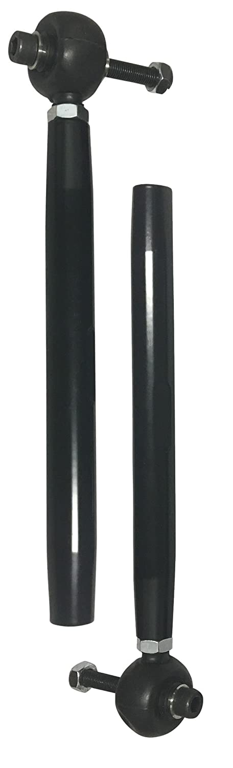 Black Turnkey UTV Can Am Defender HD Performance Series Tie Rods Pair