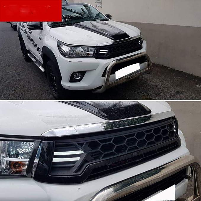 2016 2017 Led Raptor Grill Für Toyota Hilux Revo Frontgrill Schwarz Raptor Grill Zubehör Toyota Hilux Zubehör Weiß Auto