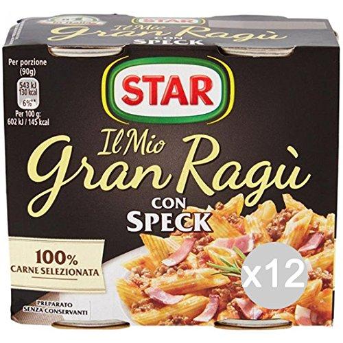 Set 12 STAR Salsa Salsa De Gran Vestidor Mota De 180X2 Para La Pasta: Amazon.es: Alimentación y bebidas